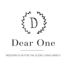 Dear One Photographer Logo
