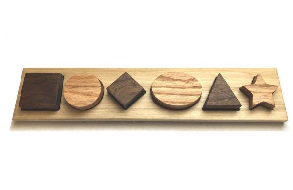 Hardwood Shape Puzzle
